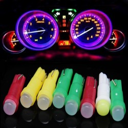 T5 LED Light Lamp Bulb Dashboard Door Mirror 10 pcs |