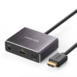 UGreen HDMI Audio Splitter 4K Z Konwerterem Optycznym