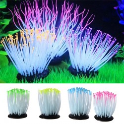 Aquarium Luminous Sea Anemone Imitation Plant