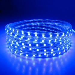 SMD 5050 AC 220V 60 LED - wodoodporne elastyczne światło - Led taśma & wtyczka zasilania