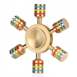 Regenbogen Metall Zappeln Spinner Hand Spinner |