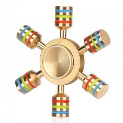 Regenbogen Metall Zappeln Spinner Hand Spinner  