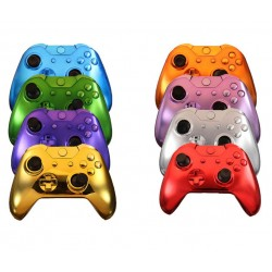 Xbox One Controller Replacement Shells Cover Chrome  
