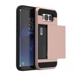 Samsung Galaxy S8 S8 Plus Hybrid Einbauschlitz Hart PC + Weicher TPU Schutzhülle