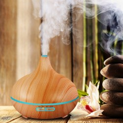 Air Humidifier Oil Aromatherapy Light Electric Diffuser 300ml