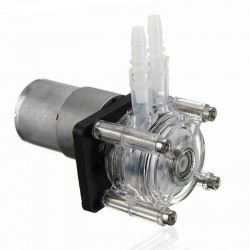 Vacuum Aquarium Lab Analytical DC 12V Large Flow Desing Peristaltic Head Pump