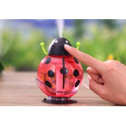 DC 5V Ladybug Ultrasonic Humidifier USB Air Diffuser Led Light