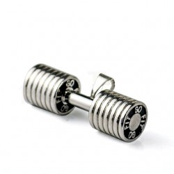 Men's Stainless Steel Dumbbell Pendant