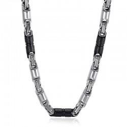 Titanium Stainless Steel Chain Men's Necklace