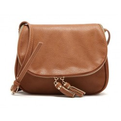 Tassel Leather Cross Body Shoulder Women's Bag