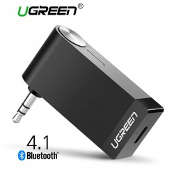 Ugreen Wireless Bluetooth Receiver 3.5mm Jack Audio Music Adapter With Microphone