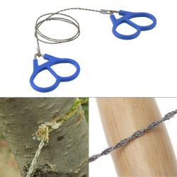 Steel Wire Hand Saw Outdoor Survival Gear Camping