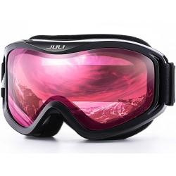 Sporty Zimowe Przeciwmgielne Podwójne Soczewki Ochrona UV Okulary Ochronne Gogle