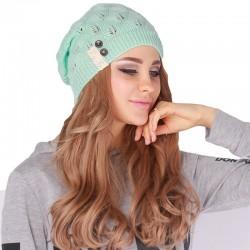 Sombrero Elástico Invernal para Mujeres