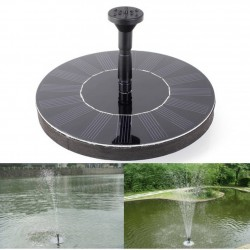 14W - solar floating pond fountain - water pump