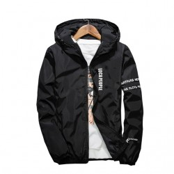 Slim Fit Hooded Jacket Windbreaker