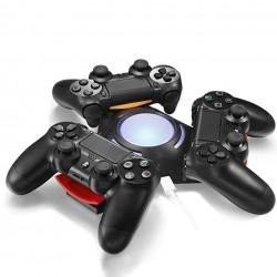 Sony Playstation 4 PS4 Dualshock 4 Kontroler Trójkątny Potrójny Port LED USB Stacja Ładująca