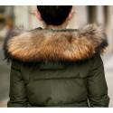 Winter Warm Hooded Slim Long Jacket