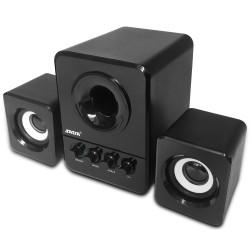 3W PC 2.1 Speaker Set Subwoofer Wired USB