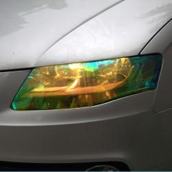 Shiny Chameleon Car Lights Film Sticker 120 * 30cm