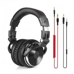 Profesjonalne DJ Studio Słuchawki Przewodowe Stereo Zestaw Słuchawkowy