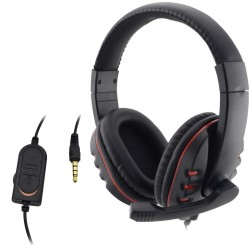 PlayStation 4 PS4 PC Bekabelde 3.5 mm Gaming Headset