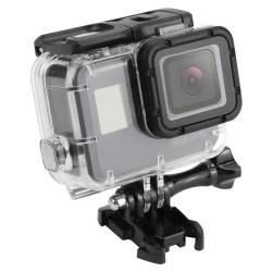 SHOOT 45m Waterproof Case for Gopro Hero 5 Black Edition Camera with base Mount Protective HERO 5 Ca