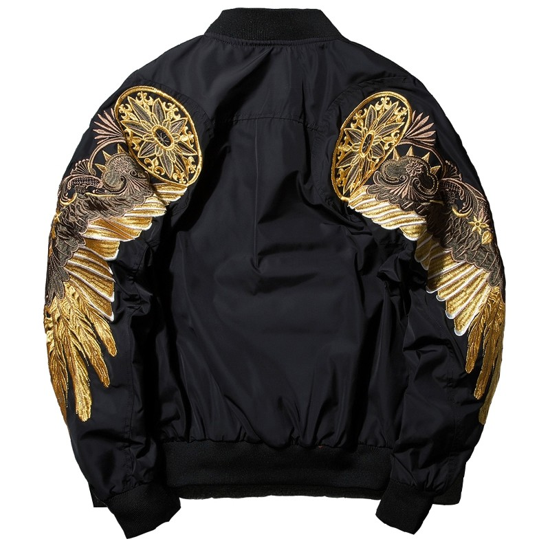finest selection 14f59 266ad Black Embroidery Bomber Jacket Kaufen?