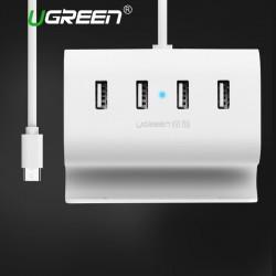 Ugreen USB C HUB 4 Poorten Super Snelheid Interface Splitter