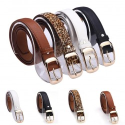 Fashion Metal Buckle Leather Belt