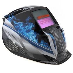 Blue Fire Solar Automatisch Zelfdimmende Lashelm