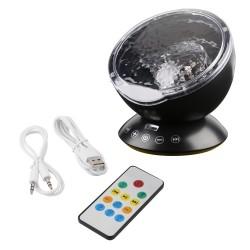 Oceaan Golf Sterrenhemel USB LED Nachtlampje Projector