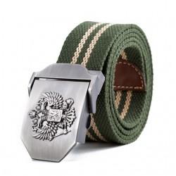 Cinturón Unisex en Lona con Emblema de Rusia