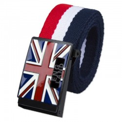 Fashion England Style Canvas Belt Unisex
