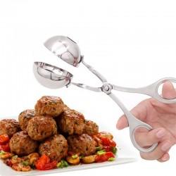 Convenient Meatball Maker Stainless Steel Stuffed Meatball Clip DIY Fish Meat Rice Ball Maker