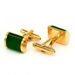 Green Opal Luxury Cufflinks