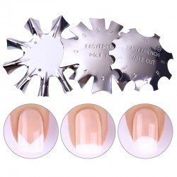 French Manicure Stencil Tool