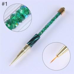 Pincèl con gradiente para nail art