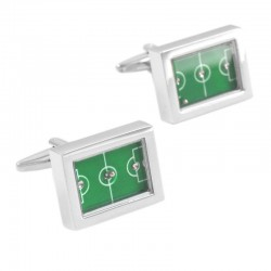 Football Field Table-football Cufflinks