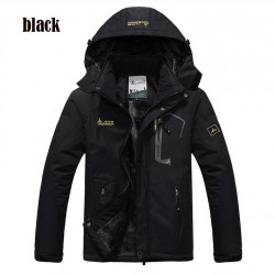 Water Resistant Windproof Thick Hooded Winter Jacket