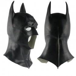 Halloween Vollgesichts Latex Batman Maske
