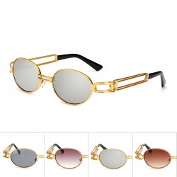 Retro Steampunk Small Round Sunglasses Unisex UV400