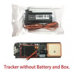 Mini waterdichte GSM - GPS-autotracker met ingebouwde batterij