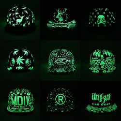 Fluorescent Glow In The Dark Baseball Cap Unisex