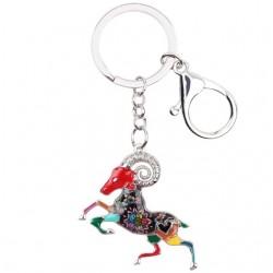 Aries Zodiac Sign Keychain Keyring