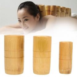 Traditionellen chinesischen bambus saugnäpfe akupunktur anti cellulite massage set 3 stücke