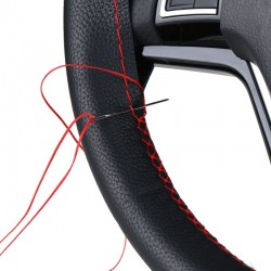 Auto Lenkradbezug Reparatur DIY Kit mit Nadel und Faden