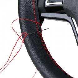 Zestaw naprawczy pokrowca na kierownicę samochodu z igłą i nicią