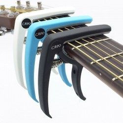 Plastic guitar capo for 6 string instruments