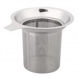 Siatkowy zaparzacz do herbaty - sitko wielokrotnego użytku - czajniczek ze stali nierdzewnej